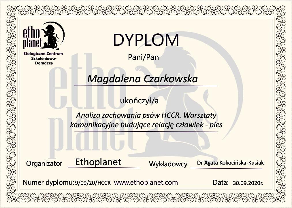 Ethoplanet - HCCR