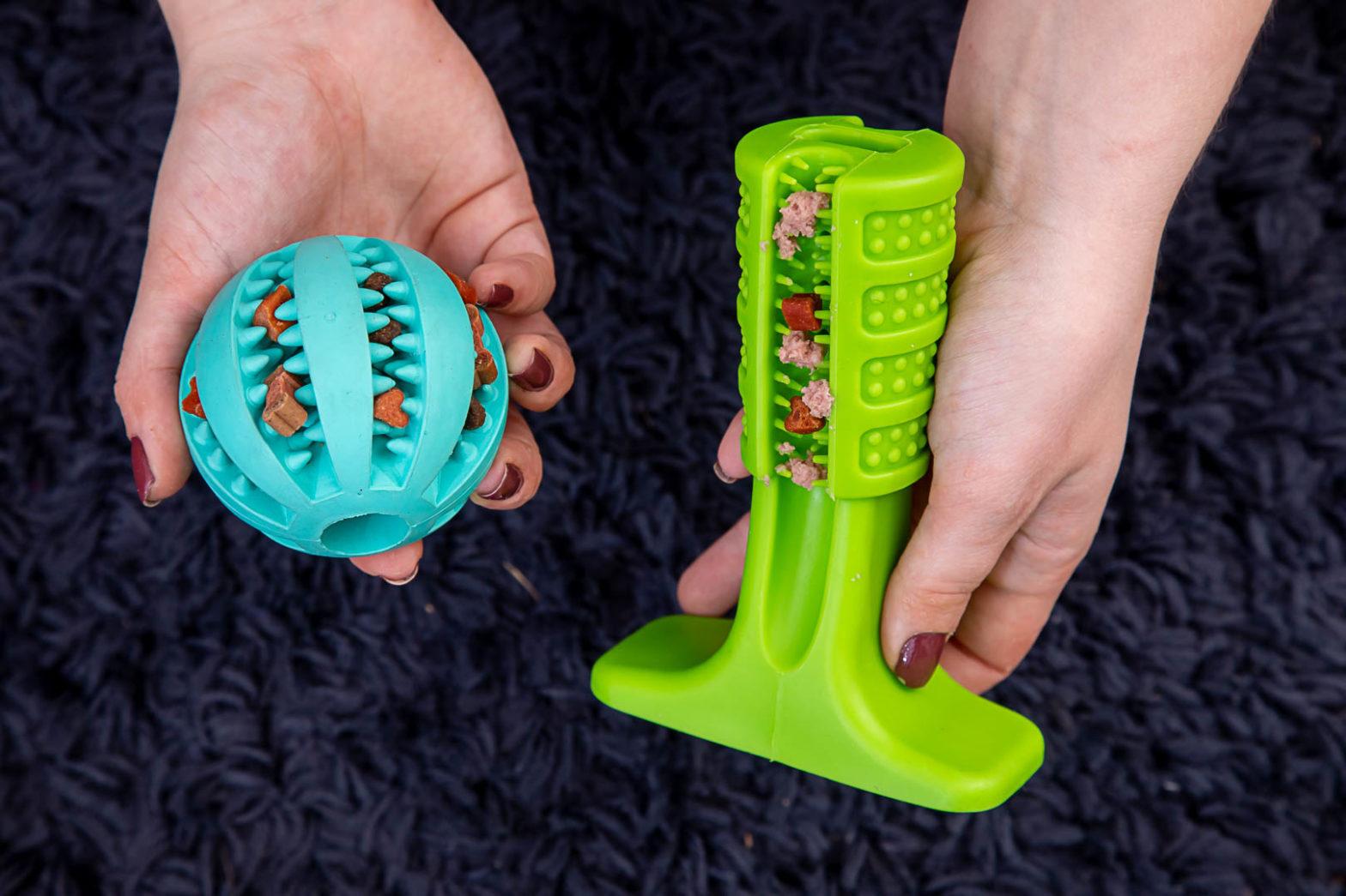 Obrazek wyróżniający wpisu Zabawki dodatkowo czyszczące zęby i masujące dziąsła